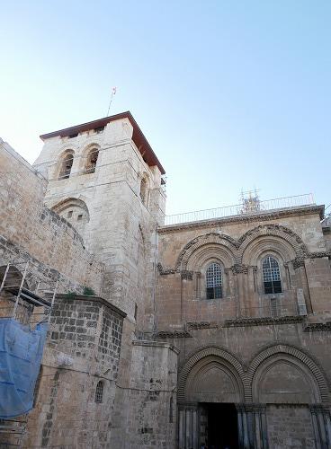 エルサレム(イスラエル)の聖墳墓教会外観