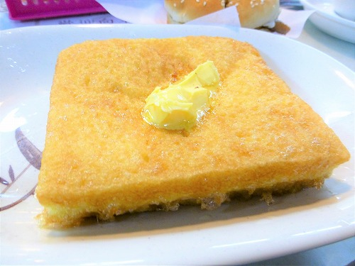 香港の蘭芳園のフレンチトースト