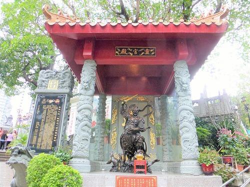 香港の黄大仙祠の霊官殿