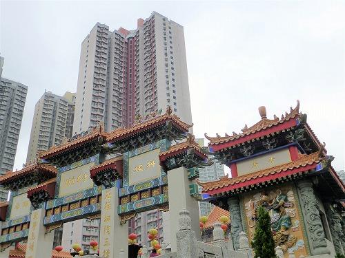 香港の黄大仙祠
