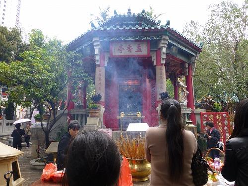 香港にある黄大仙の孟香亭