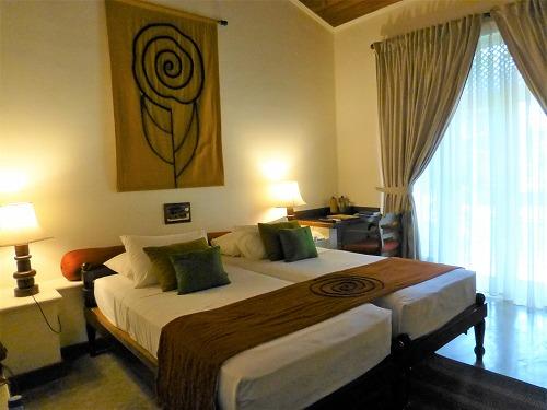 スリランカのHotel Sigiryaの室内