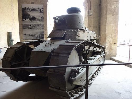 フランス・パリにあるアンヴァリッドの軍事博物館に展示されている戦車