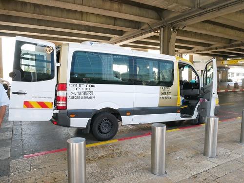 イスラエル・ベングリオン国際空港から出発するシェルート