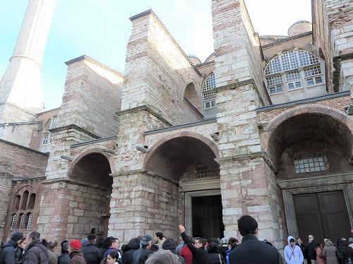 トルコ・イスタンブールのアヤソフィア博物館