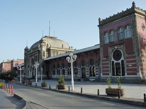 トルコ・イスタンブールのシルケジ駅