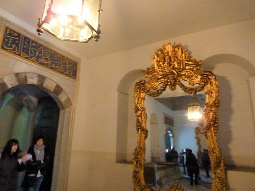 トルコ・イスタンブールのトプカプ宮殿のハレム