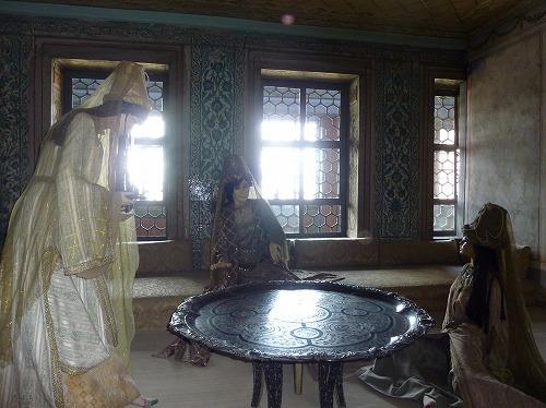 トルコ・イスタンブールのトプカプ宮殿のハレム(母后の部屋)
