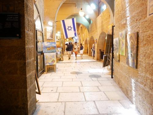 エルサレム(イスラエル)の旧市街にあるユダヤ人地区