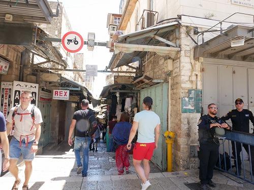 エルサレム(イスラエル)の旧市街入口
