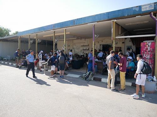 ヨルダンのアラバ・ボーダー内の店