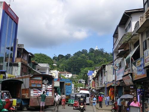 スリランカ・キャンディの街並み
