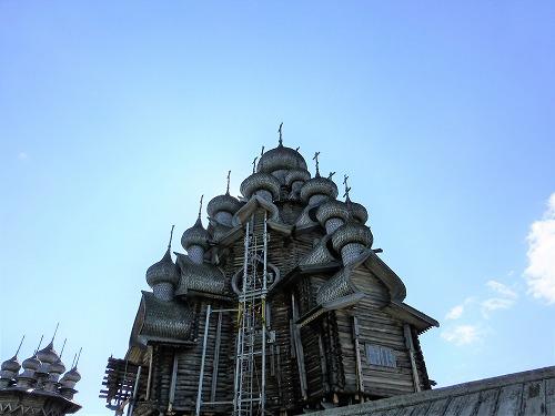ロシア・キジ島にあるプレオブラジェーンスカヤ教会