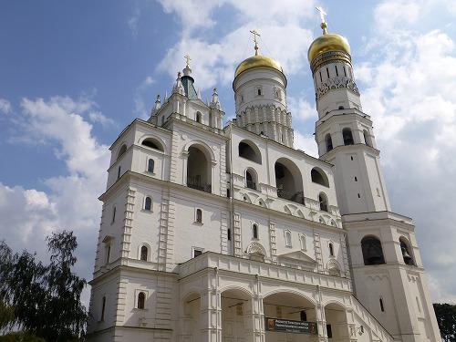 ロシア・モスクワのクレムリンのイワン大帝の鐘楼