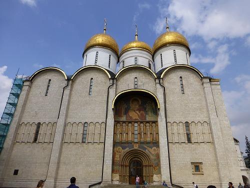ロシア・モスクワのクレムリンのウスペンスキー大聖堂