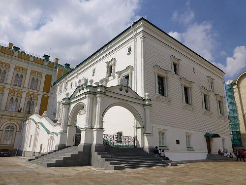 ロシア・モスクワのクレムリンのブラゴヴェシチェンスキー聖堂