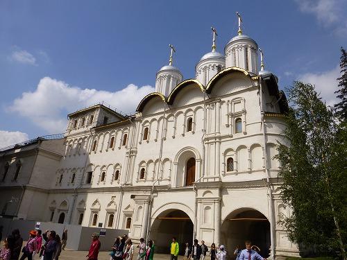 ロシア・モスクワのクレムリンのパトリア―シェ宮殿