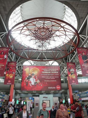 クアラルンプール(マレーシア)のKLセントラル駅構内