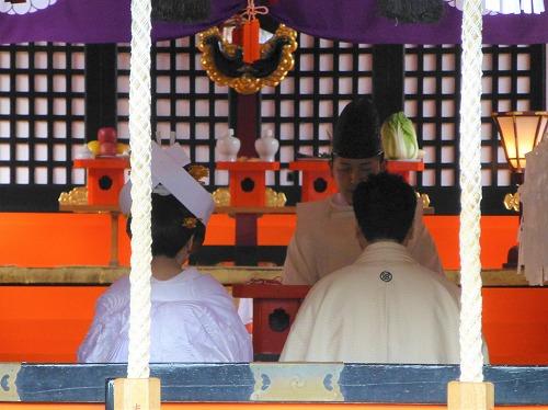 熊野速玉大社で行われた結婚式