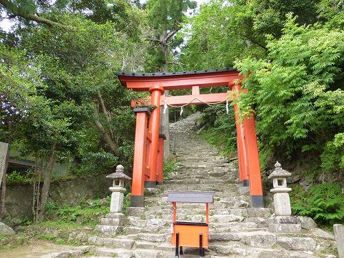 神倉神社の入口
