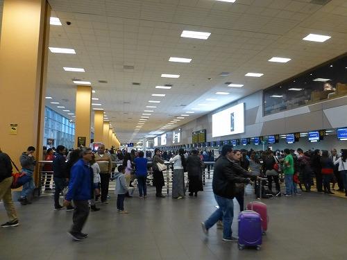 ペルー・リマのホルヘ・チャベス国際空港