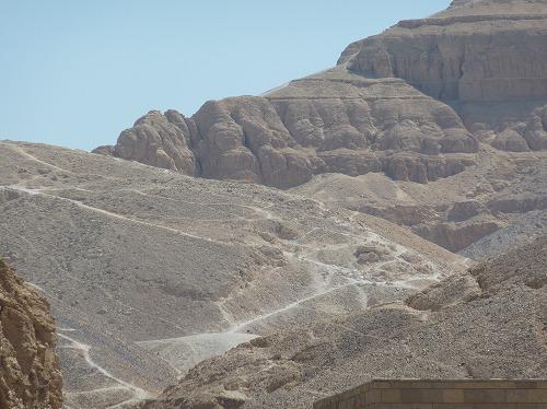 エジプト・ルクソール(ナイル川西岸)の王家の谷