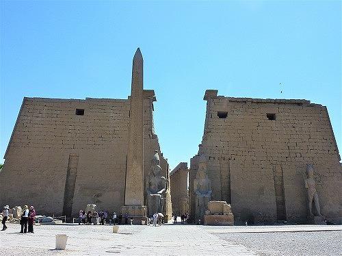 エジプト・ルクソールのルクソール神殿