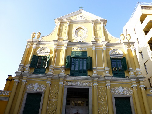 マカオ・聖ドミニコ教会