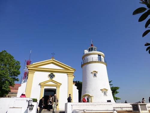 マカオ・ギア灯台&教会