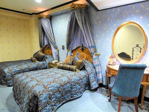 マカオのリスボアホテルのスウィートルーム