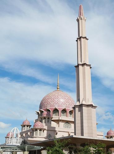 マレーシアのピンクモスク
