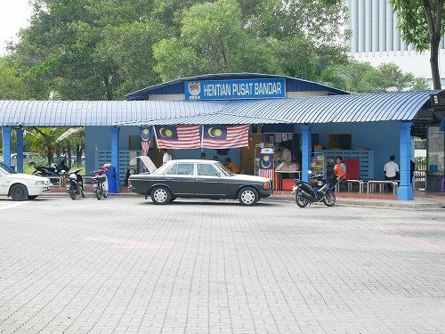 マレーシアのシャー・アラムにあるHentian Pasat Bandar Shah Alamバスターミナル