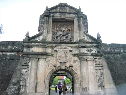 フィリピン・マニラのサンチャゴ要塞
