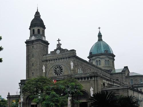 フィリピン・マニラのマニラ大聖堂