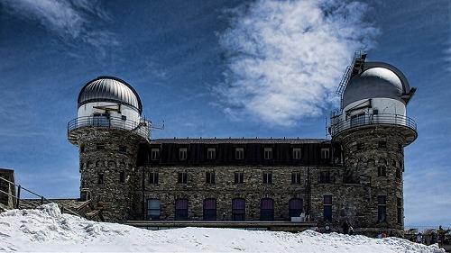 スイスのゴルナーグラードにある天文台