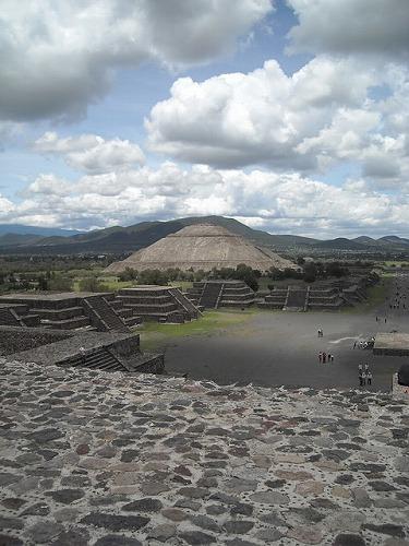 メキシコのティオティワカン
