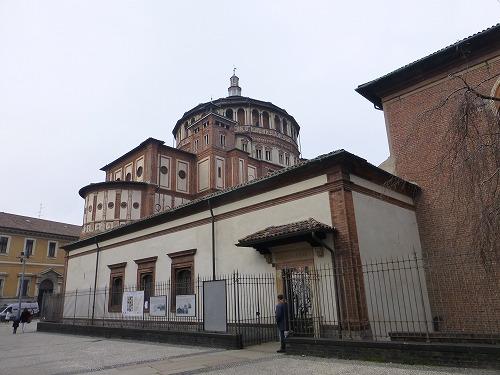 ミラノ(イタリア)のサンタ・マリア・デッレ・グラツィエ教会