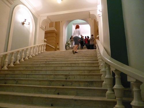 モスクワのロシア青年劇場の館内