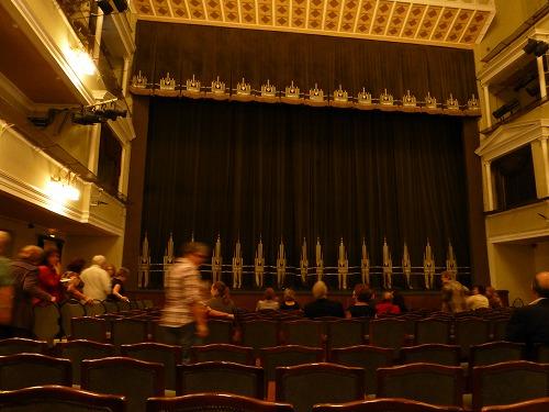 モスクワのロシア青年劇場の舞台
