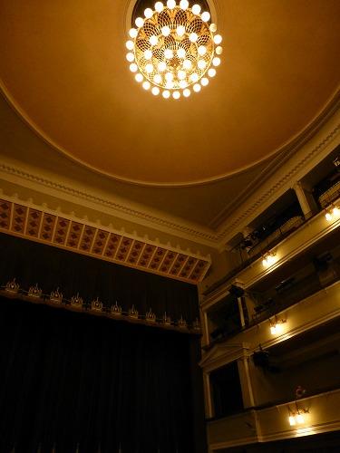 モスクワのロシア青年劇場の天井