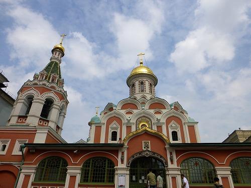ロシア・モスクワのカザン聖母聖堂