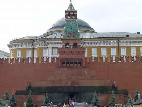 ロシア・モスクワのレーニン廟