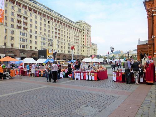 ロシア・モスクワのマネージュ広場