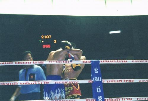 タイ・バンコクにあるムエタイの試合