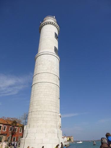 イタリア・ベネチア近くのムラーノ島の灯台