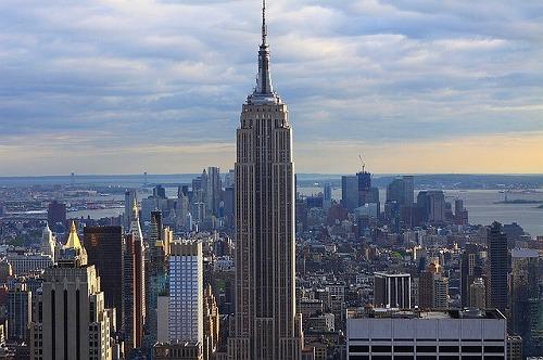 アメリカ・ニューヨークのエンパイヤ―ステートビル