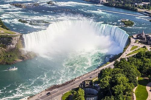 アメリカ&カナダにあるナイアガラの滝