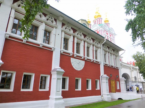 ロシア・モスクワにあるノヴォデヴィチ女子修道院のロプヒン宮殿