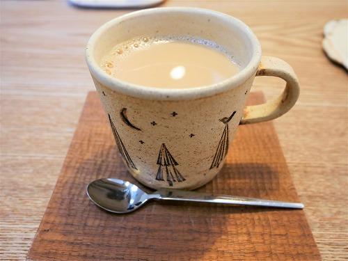 おはらい町にあるコーヒーさとうのカフェオレ