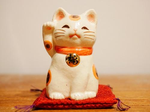 おかげ横丁の吉兆招福亭で購入した招き猫
